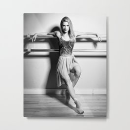Bailarina #3 Metal Print