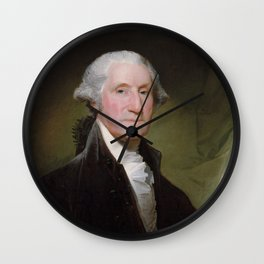 George Washington Painting Wall Clock