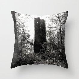 Forgotten Tower Throw Pillow