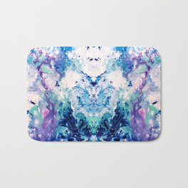 Okul - Abstract Costellation Painting Bath Mat
