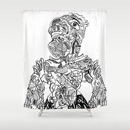 Wingless Shower Curtain