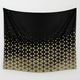Triangles Ramp Wall Tapestry