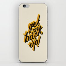 Get Back Up iPhone & iPod Skin