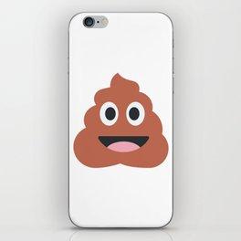 Happy Poo Emoji iPhone Skin