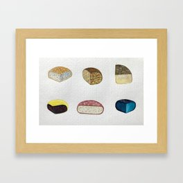 Cheese Gang Framed Art Print