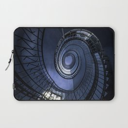 Blue spiral staircase Laptop Sleeve