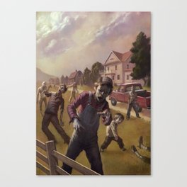 The Zombies of Lake Woebegotten Canvas Print