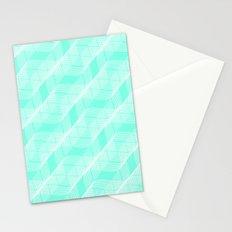 Mint Helix Stationery Cards