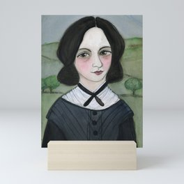Emily Bronte and her Wuthering Heights Mini Art Print