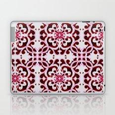 Lotus Floral Tile Pattern Laptop & iPad Skin