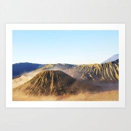 Mount Bromo Java Art Print