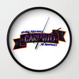 Cariñito Wall Clock