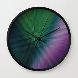 Calamity of Clashing Colors Wall Clock