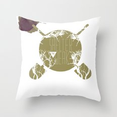 Shelter The Weak Throw Pillow