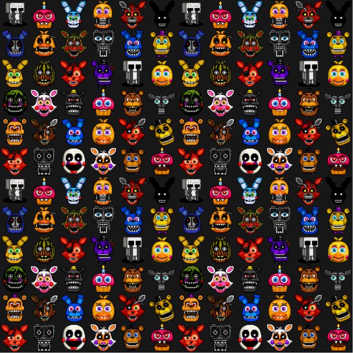 Fnaf Pixel Art Comforters