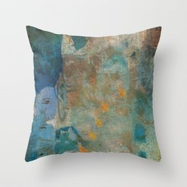 La Sirenita Throw Pillow