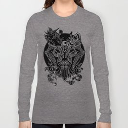 TIGER HEAD MONOCHROME  Long Sleeve T-shirt