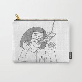 I Love True Crime - Feminine Version Carry-All Pouch
