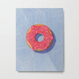FAST FOOD / Donut Metal Print