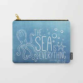 20,000 Leagues Under the Sea - Jules Verne | Quote 1 Carry-All Pouch
