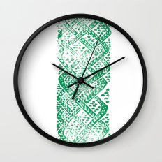 Knitwork I Wall Clock