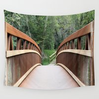 bridge Wall Tapestries featuring Bridge by Rose&BumbleBee