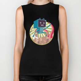 Go Go Mecha Kitty Biker Tank