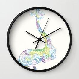 Cool Giraffe Wall Clock