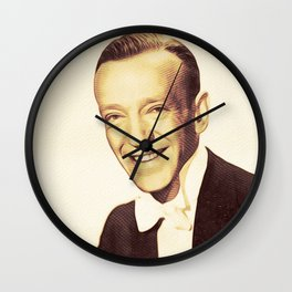Fred Astaire, Hollywood Legends Wall Clock