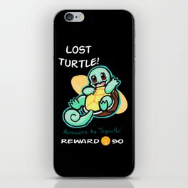 Lost Turtle- Reward iPhone Skin