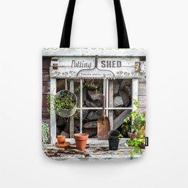Potting Shed At Work Tote Bag