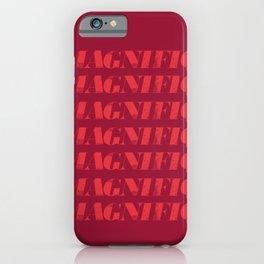 Magnifique iPhone Case