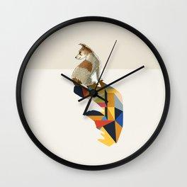 Walking Shadow, Jack Russell Wall Clock