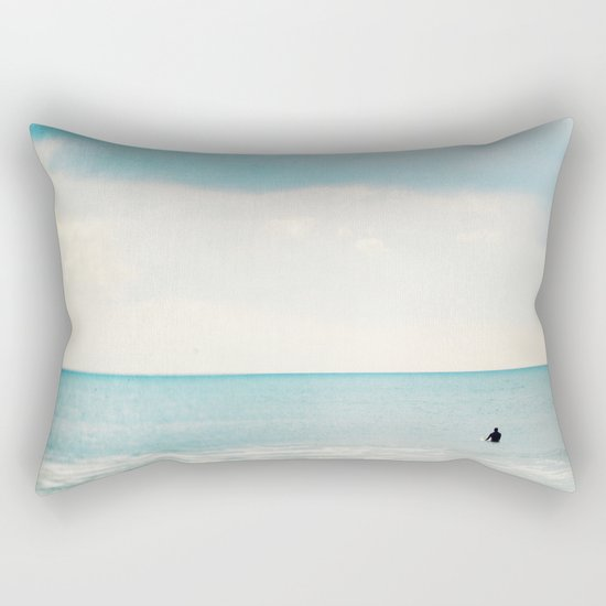 The surf, revisited Rectangular Pillow
