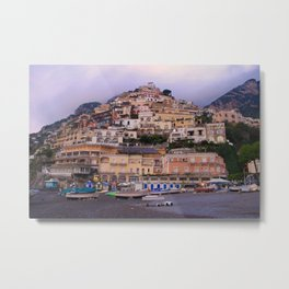 Sunrise on the Amalfi Coast Metal Print