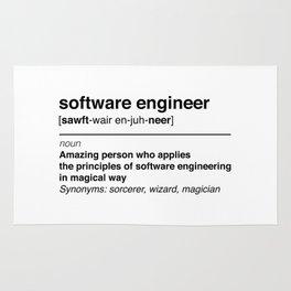 Software Engineer definition Rug
