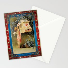 Valentine's Day Vintage Card 083 Stationery Cards