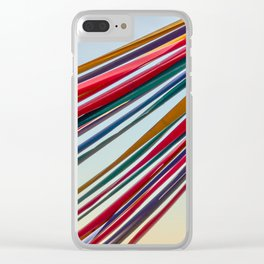 Tibidabo Ribbons Clear iPhone Case