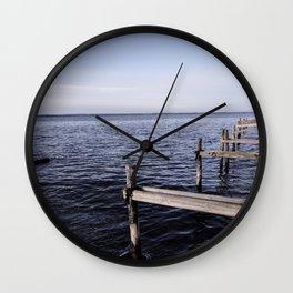 The North Sea, Denmark Wall Clock