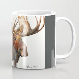 Michelangelo Moose Coffee Mug