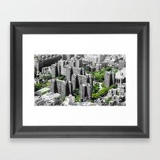 NYC - Living Green Framed Art Print