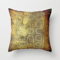 android Throw Pillows featuring ANDROID by lucborell