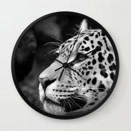 Jaguar B&W Wall Clock