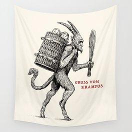 Gruss vom Krampus Wall Tapestry