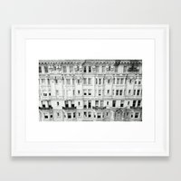 broad city Framed Art Prints featuring BROAD STREET. by Kieran Loftus