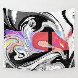 PLIGHT - BLACK Wall Tapestry