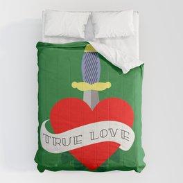 Red heart old school Comforters
