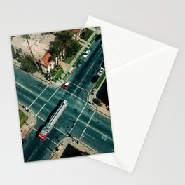 Perpendicular-Vehicular Stationery Cards