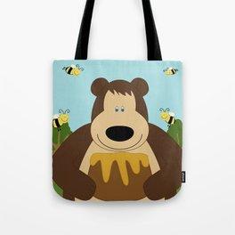 I ♥ honey Tote Bag