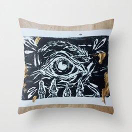 Death Anxiety Throw Pillow